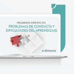 PROGRAMA EXPERTO EN Problemas de Conducta y Dificultades del Aprendizaje a distancia